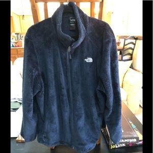 North Face navy XXXL zip up jacket
